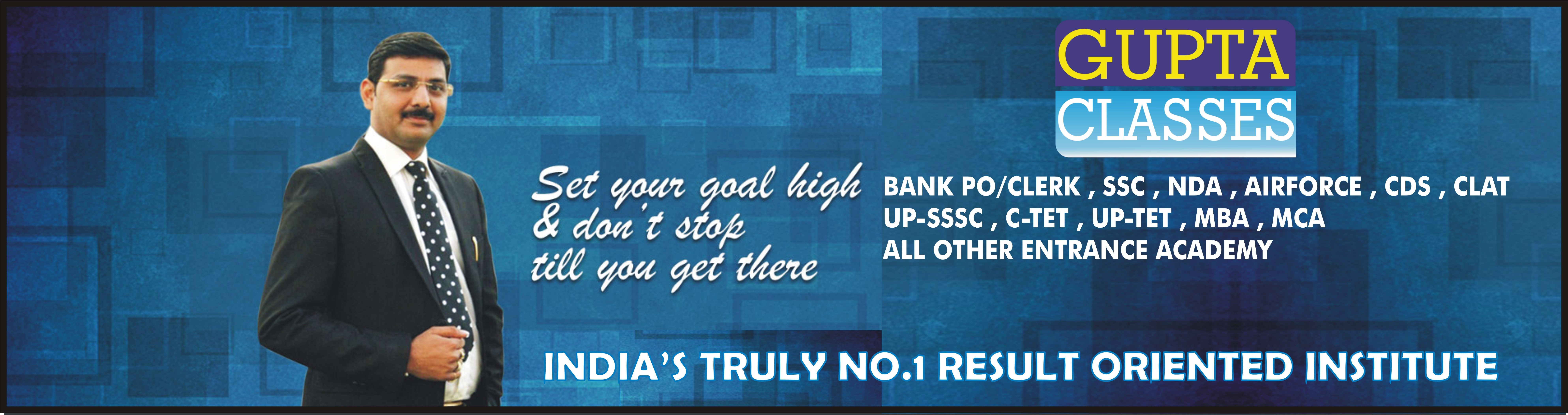 Best Coaching for SSC, Bank, CTET, NDA, MBA, Clat, Airforce group x and group y